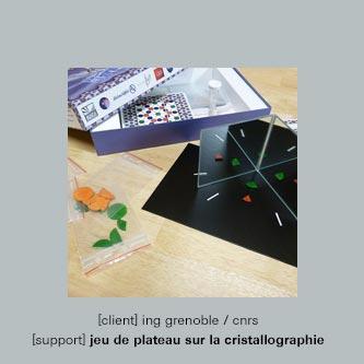 jeu de la cristallographie