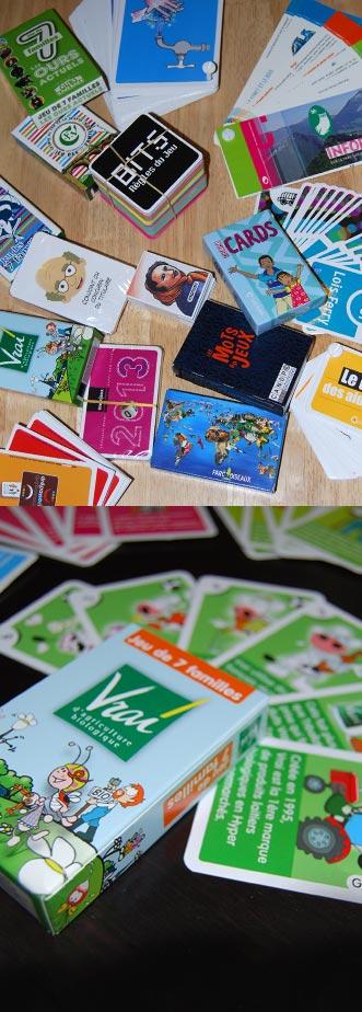 jeux de cartes, nuanciers ludiques
