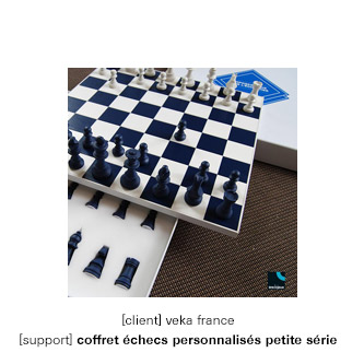 Jeu d'échecs personnalisés