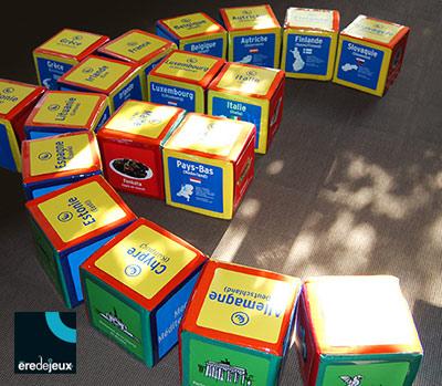 eurocubes - jeu découverte des pays membres de l'Union européenne