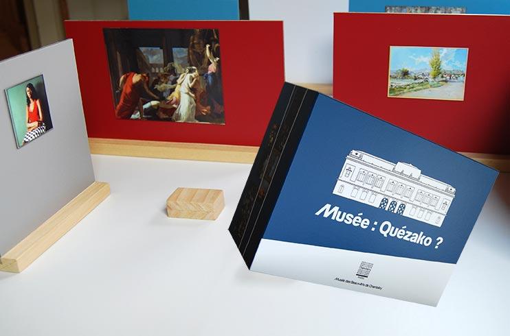 kit réalisation exposition musée, musée de poche