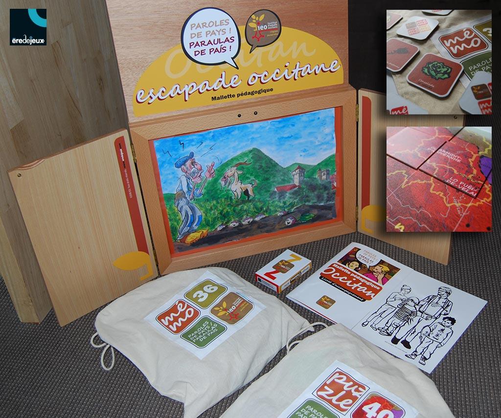 Kit ludopédagogique pour découvrir l'occitan