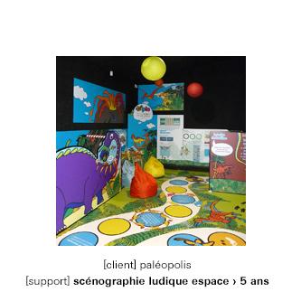 Espace enfants moins de 5 ans Parc thématique dinosaures