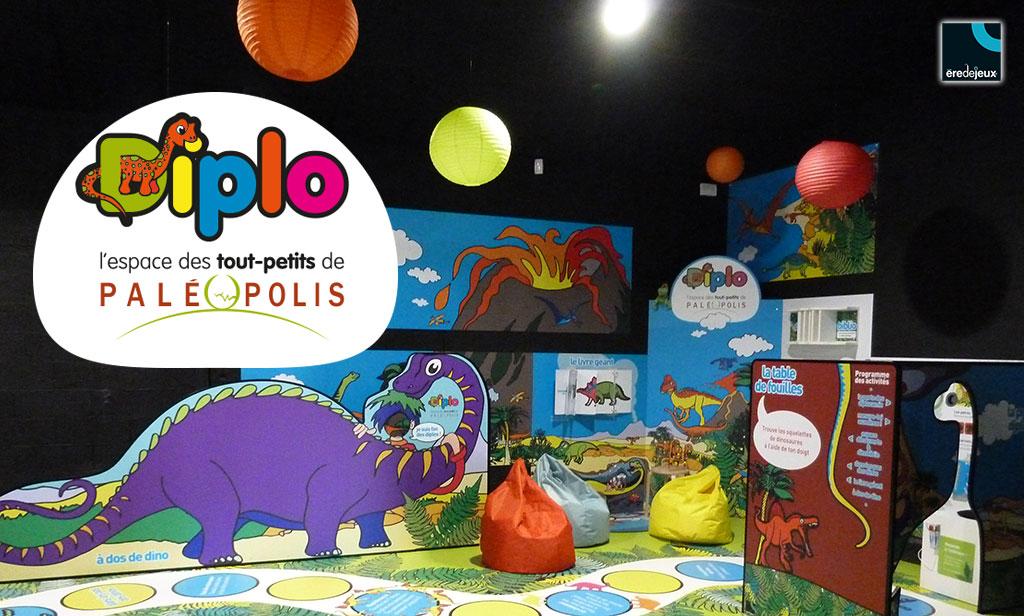 diplo, espace enfants dinosaures