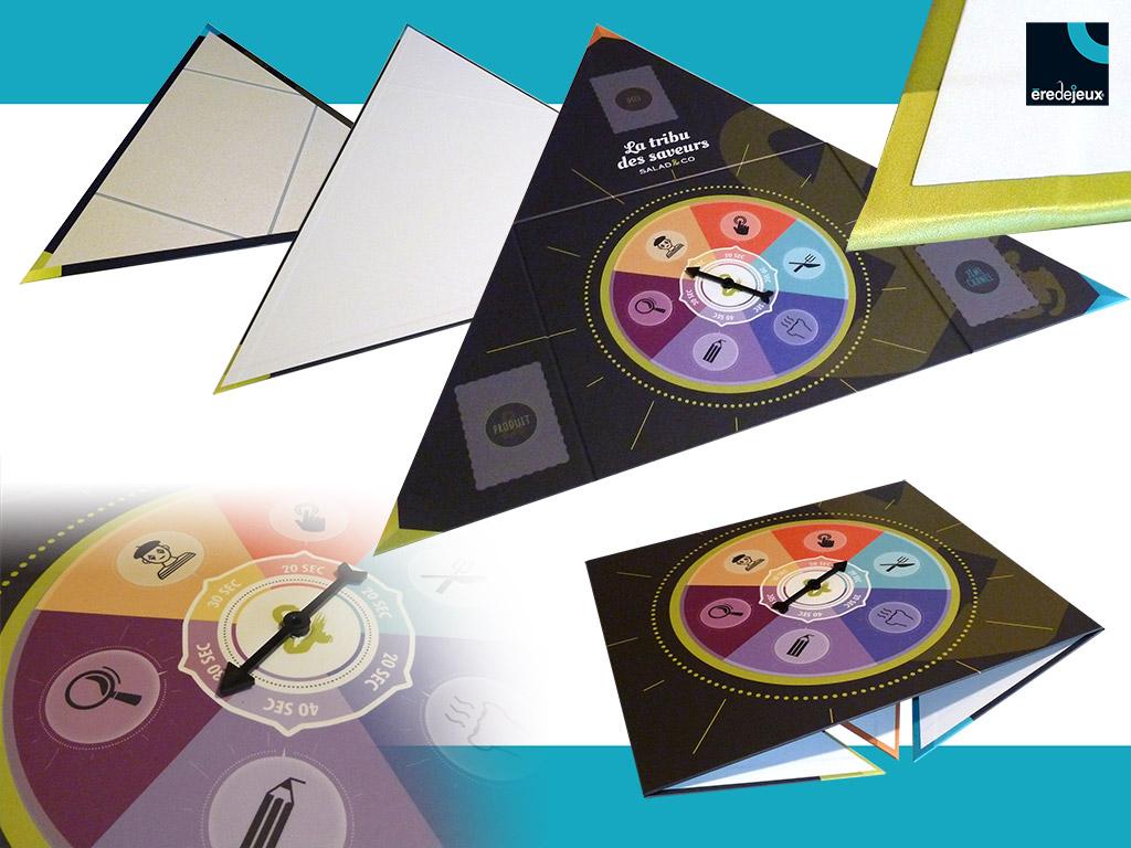 plateau de jeu triangulaire avec flèche by èredejeux