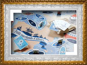 tapis de jeu XXL - marine marchande - musée national de la marine