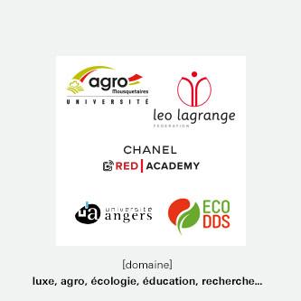luxe, agro et éducation
