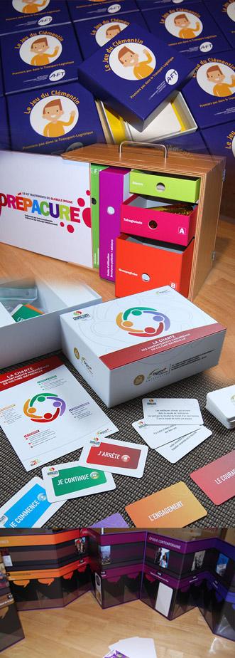 kits ludopédagogiques, serious game, jeux d'entreprise